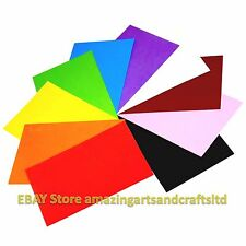 Craft Foam Sheets A4 pack of 10 Assorted Colours