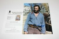 CLINT EASTWOOD SIGNED 'THE OUTLAW JOSEY WALES' 11x14 MOVIE PHOTO BECKETT COA BAS