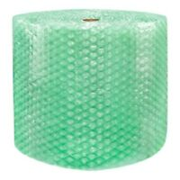 """1/2"""" SH Recycled Large Bubble Cushioning Wrap Padding Roll 250' x 24"""" Wide 250FT"""