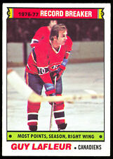1977 78 OPC O PEE CHEE 214 GUY LAFLEUR RB NM MONTREAL CANADIENS HOCKEY CARD