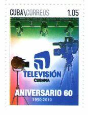 Cub2010 60th Anniversary of National Television 1v MNH