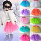 Kids Girl Tutu Skirt Party Ballet Dance Sequin Princess Dress Pettiskirt Costume