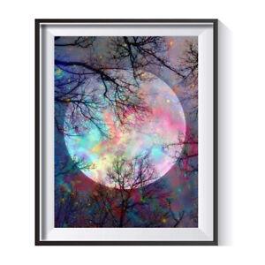 5D Moon Full Drill Rhinestone Diamond Painting Kits Cross Stitch Craft Gift