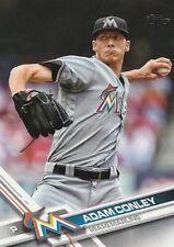 "*Miami Marlins-""Adam Conley"" /2017 Topps #163/ *Mint Baseball Card- {97}"