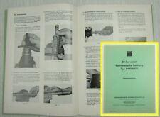 ZF Servostat hydrostatische Lenkung Typ 8440 - 8455 Reparaturanleitung Stapler