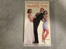 The Wedding Party (1997) -VHS - Comedy-Cate Blanchett-Promo / Screener- RARE-NEW