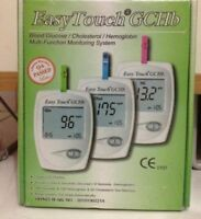 EasyTouch Gchb Cholesterol Glucose Hemoglobin Easy touch Blood Monitoring Meter
