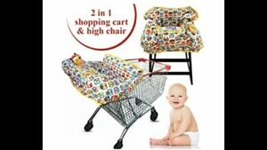 Croc N Frog Shopping Cart/ High Chair Cover(Germ Protection) 6 Months- 4 Years