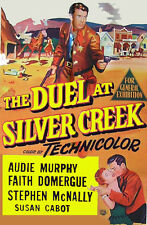 "AUDIE MURPHY  ""THE DUEL AT SILVER CREEK""  DVD    1952"