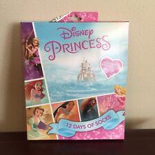 Disney Princess Nwt Sock Set 12 Days Of Christmas Socks