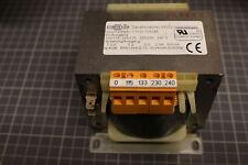 Vorschalt-transformateur 0-115-133-230-240 v 500va 2 AMP.