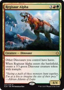Regisaur Alpha x4 Magic the Gathering 4x Ixalan mtg card lot