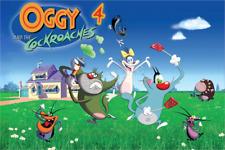 Oggy und die Kakerlaken Eßbar Tortenaufleger NEU Party Deko Geburtstag dvd