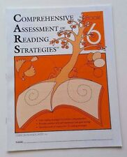 NEW Comprehensive Assessment of Reading Strategies & Comprehension 6th Grade 6