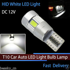 1PC HID White T10 W5W 5630 6-SMD Car Auto LED Light Bulb Lamp CANBUS DC 12V