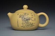 exquisite Rare Chinese handmade beauty xishi of yixing zisha Purple clay teapot