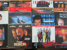 lot of 15 LASERDISCS Thriller/ action SPEED Con Air Impossible Face/off Broken A