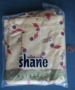 1970s Burger Chef Restaurant UNUSED-UNWORN Bagged Shane Employees Apron-SCARCE!