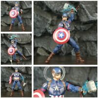 Marvel Avengers Endgame Steve Rogers Captain America Thor Action Figure Toy War