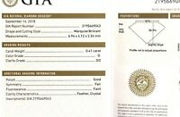 GIA loose certified .41ct SI2 D Marquise cut diamond estate vintage antique