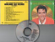 Elvis Presley  CD  GOLDEN RECORDS  VOL.4   (c)  1986    CLUB EDITION