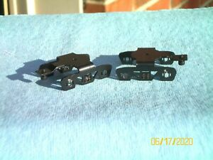 American Flyer & Ficus Products (1) pair-- (4) SPRING steel trucks..