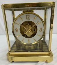LeCoultre Atmos Jaeger Perpetual Motion Clock Sold For Parts