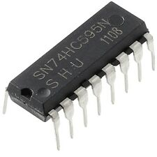2X 74HC595 74595 SN74HC595N 8-Bit Shift Register DIP-16