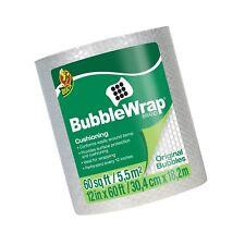 "Duck Brand Bubble Wrap Roll, 3/16"" Original Bubble Cushioning, 12"" x 60', Per..."