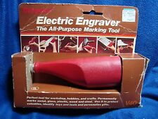 NOS Burgess Electric Pencil Engraver with Carbide Tip