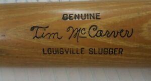 Hillerich & Bradsby Louisville 125 Kentucky Genuine Tim McCarver Baseball Bat