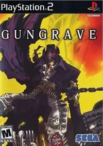 GUNGRAVE  NTSC-U/C US  PS2 Playstation 2   SEGA / RED  Stylish Action Shooter