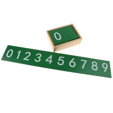 Montessori Finger Numbers Math Toy Children Counting Top Aids Math L9W5 T1H8
