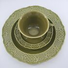 Canonsburg pottery Madeira Ironstone 1963 USA Diner plate cup and saucer