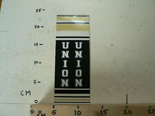 STICKER,DECAL LARGE STICKER  UNION  FRAME STICKER  FIETS BROMFIETS ? CYCLE ?