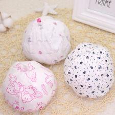 2pcs Cartoon Pattern Baby Hats Soft Comfortable Cotton Elastic Infant Hat JB