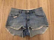 Billabong Distressed denim shorts size 10