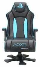 Used X-Rocker Genesis PlayStation Gaming Chair - Blue -GO95.