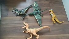 JURASSIC WORLD  TOY DINOSAURs x 4 -  FIGURE PARK HASBRO - 2 have sounds
