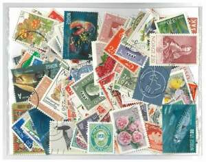 Norway - 200 Different Stamps Mixed in Bag Used
