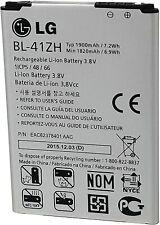 Genuine LG Battery BL-41ZH 1900mAh For LG Risio Leon H343 | H345| LS665 | L22CB