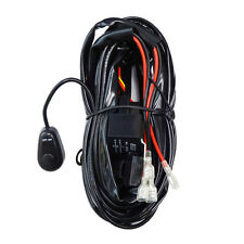 Relay Harness Wiring Cable Switch for Fog Light Off Road HID LED Lamp Bar 2-LAMP