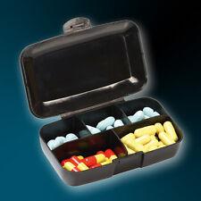 Buchsteiner Pillenbox / Pillendose -  5 Fächer, Farbe schwarz