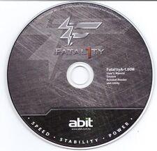 ABIT DRIVER CD TREIBER FATAL1TY F-I90HD