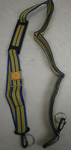 Unbranded/Generic Blue and Yellow Adjustable Strap