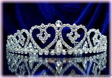 "DIADEME cristal ""TRESOR"" bijou Mariage accessoire Mariée comité Miss"