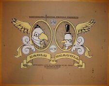 2006 Eagle Seagull - Reeperbahn Silkscreen Concert Poster s/n by Drew Millward