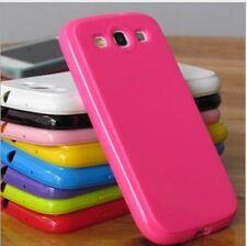 3 x Softcover Cover für Samsung Galaxy S3 i9300 GLANZ  viele Farben! NEU
