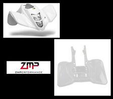 NEW SUZUKI LTZ400 Z400 KFX400 WHITE PLASTIC FRONT AND REAR FENDER SET PLASTICS