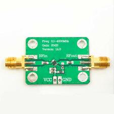 Low Power Microwave Rf Broadband Amplifier 01 4000mhz Gain 20db